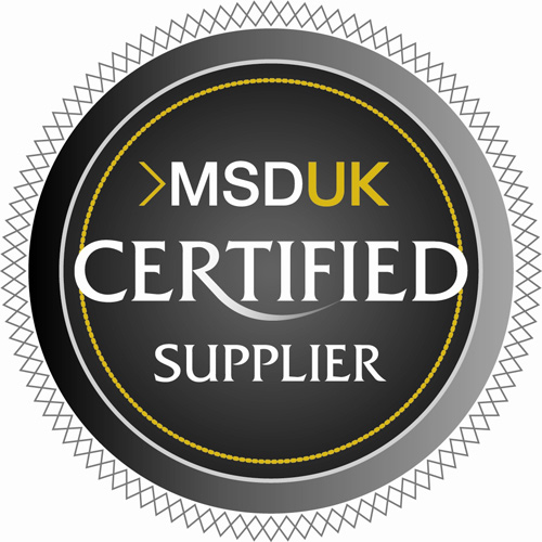 MSDUK certified stamp